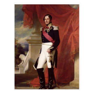 Leopold I 1840 Carte Postale