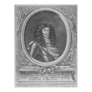 Leopold I, empereur romain saint Carte Postale