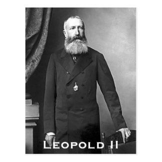 Leopold II van België Carte Postale