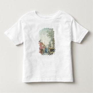 Leopold Mozart et ses enfants Wolfgang T-shirt Pour Les Tous Petits