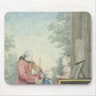 Leopold Mozart et ses enfants Wolfgang Tapis De Souris