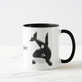 L'épaulard ajoutent juste le nom mugs
