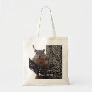 L'épicerie de sac fourre-tout à écureuil portent