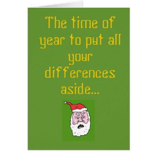 L'époque de mettre tout votre diffèrent… cartes de vœux