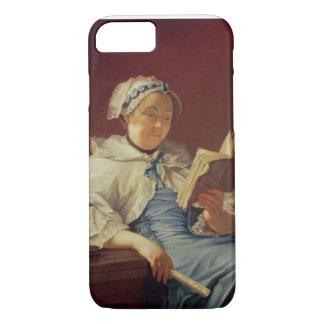 L'épouse de l'artiste, 1758 (huile sur la toile) coque iPhone 7
