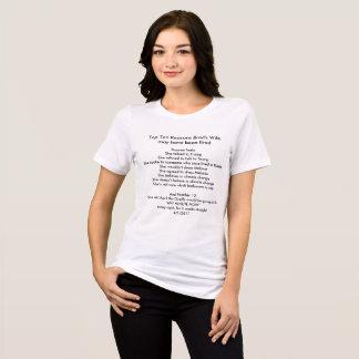 L'épouse et l'AprilTheGiraffe de Brad T-shirt
