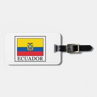 L'Equateur Étiquettes Bagages