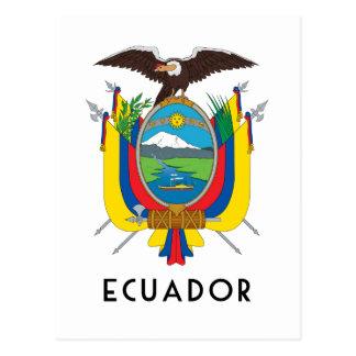 L'Equateur - symbole/manteau des Carte Postale