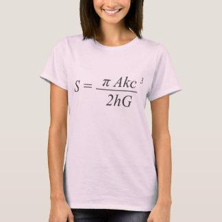 L'équation de paradoxe t-shirt