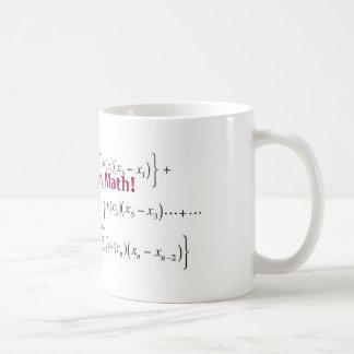 l'équation, là n'est aucun I dans les maths ! , oh Mug