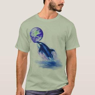 L'équilibre de la nature (orque) t-shirt