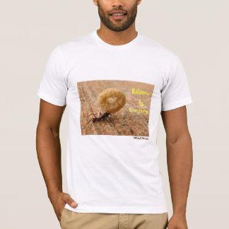 L'équilibre est tout T-shirt de concepteur