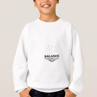 l'équilibre mesure dur sweatshirt