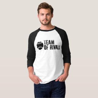 L'équipe de rivaux Podcast 3/4 T-shirt de raglan
