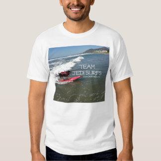 L'équipe Jedi surfe la ligne T-shirt