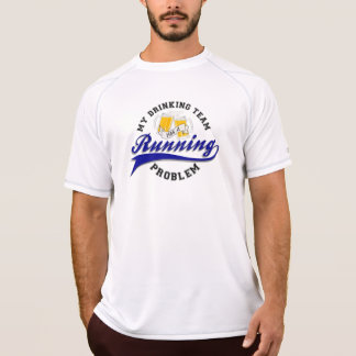 L'équipe potable a le nouvel équilibre solides t-shirt