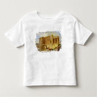 L'Erechtheum, Athènes, avec des figures dans le T-shirt Pour Les Tous Petits