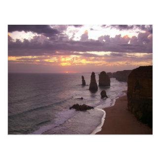 Les 12 apôtres en Australie Carte Postale