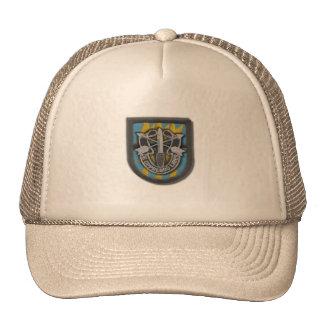 les 12èmes forces spéciales groupent le vetera d'i casquettes de camionneur