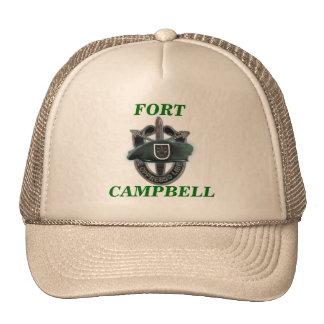 les 5èmes forces spéciales groupent le chapeau de  casquette