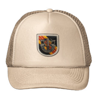 les 5èmes forces spéciales groupent les vétérinair casquette