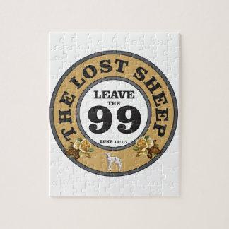 les 99 moutons perdus puzzle