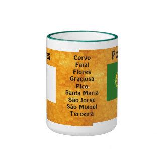 Les Açores Mug* Caneca Açoriana Mug Ringer