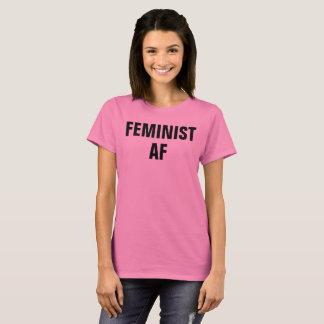 Les af féministes résistent au T-shirt