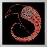 Les affiches de Celtic de Morrigan Raven