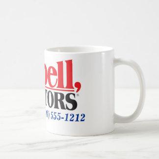 Les agents immobiliers de Tarbell ont personnalisé Mug