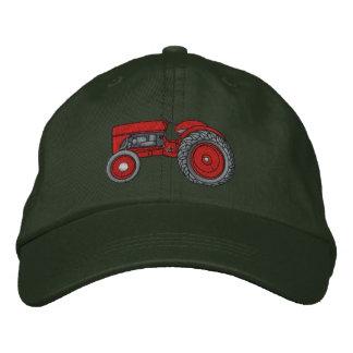 Les agriculteurs ont brodé le casquette