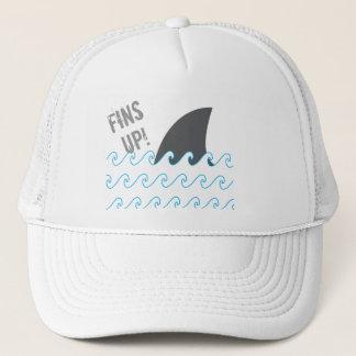 Les ailerons de requin ondule le casquette drôle