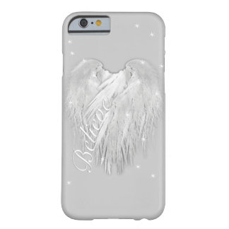 "Les AILES d'ANGE ""croient"" le coeur magique Coque Barely There iPhone 6"