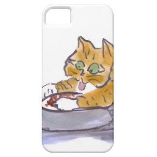 Les aliments pour chiens, Yum, indiquent le chaton iPhone 5 Case