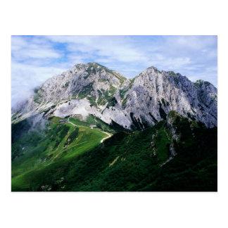 Les Alpes de Carnic de l'Autriche et de l'Italie Cartes Postales
