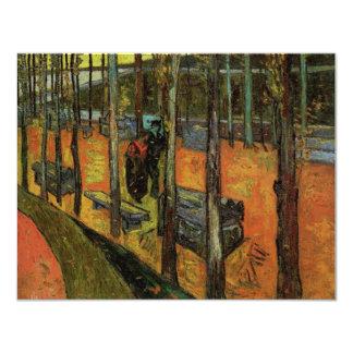 Les Alyscamps (cimetière) par Vincent van Gogh Carton D'invitation 10,79 Cm X 13,97 Cm
