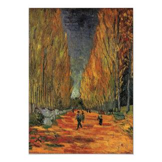 Les Alyscamps par Vincent van Gogh Carton D'invitation 12,7 Cm X 17,78 Cm