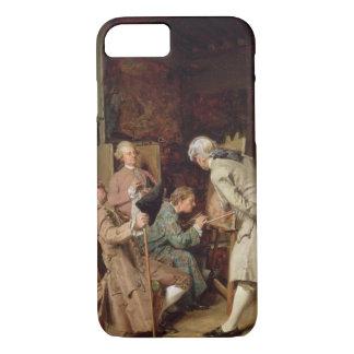 Les amants d'art, ou le peintre, 1860 (panneau) coque iPhone 8/7
