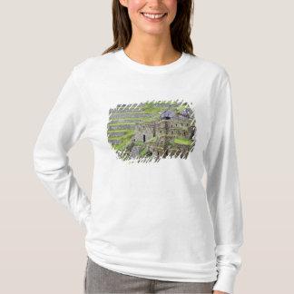 Les Amériques, Pérou, Machu PIcchu. Les 2 antiques T-shirt