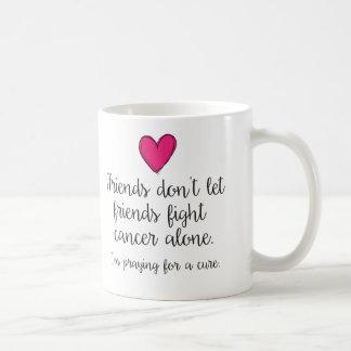 Les amis ne laissent pas tasse de combat d'amis la