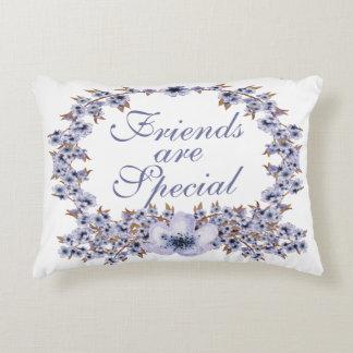 Les amis sont carreau spécial coussins décoratifs