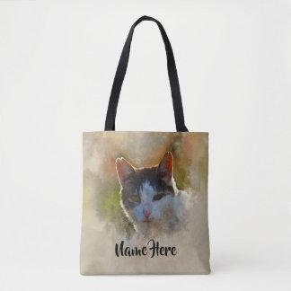 Les amoureux de les chats ont personnalisé le sac