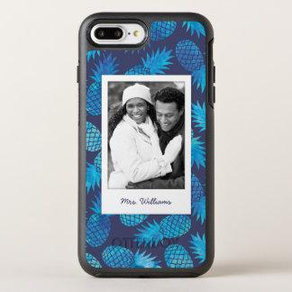 Les ananas bleus de colorant de cravate | ajoutent coque otterbox symmetry pour iPhone 7 plus