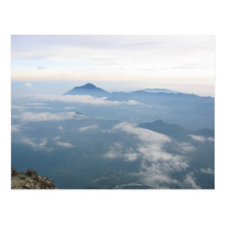 Les Andes de Volcan Tajumulco, Guatemala Carte Postale