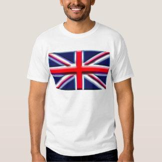 Les Anglais (drapeau d'artiste) T-shirts