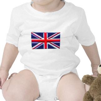 Les Anglais (drapeau d'artiste) Barboteuse