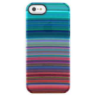Les anneaux ultra-violets de Saturn Coque iPhone Clear SE/5/5s