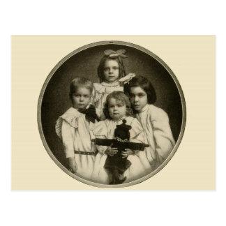 Les années 1900 démoniaques mauvaises déplaisantes carte postale