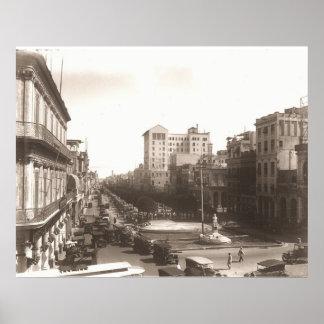 Les années 1920 Foto Antigua d'EL Prado De La Haba Posters