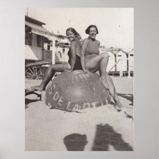 les années 1930 de Cannes Poster